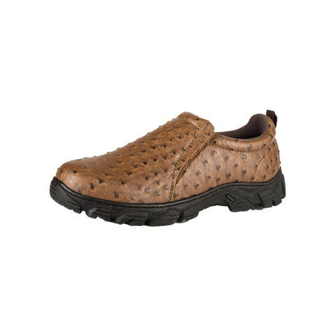 Roper Casual Shoes Mens Sport Faux Ostrich Lug