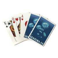 Ventura, California - Jellyfish - LP Artwork (Poker Playing Cards Deck)