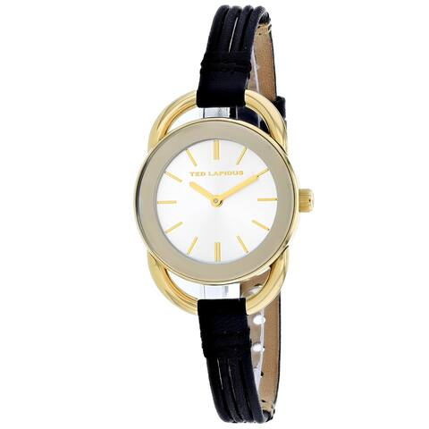 Ted Lapidus Women's Classic A0681PBINN Silver Dial watch