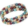 D'AMA Women's Pearl Bracelet - Easy-On Stretch Triple Strand cultured Pearl Bracelet - Thumbnail 11