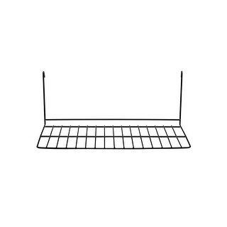 """Prevue Pet 12""""L Black Wire Patio Sundeck - 363"""