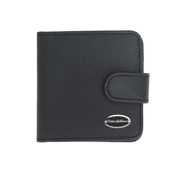 d413bbc4 Shop Dolce & Gabbana Blue Dauphine Leather Pocket Wallet - One Size ...