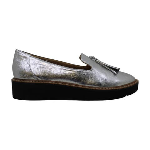 Naturalizer Womens Ellie Almond Toe Loafers