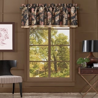 Link to Five Queens Court Martina Straight Window Valance Similar Items in Window Treatments