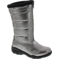 Tundra Girls Puffy Waterproof Snow Boots