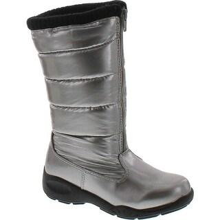 Tundra Girls Puffy Waterproof Snow Boots