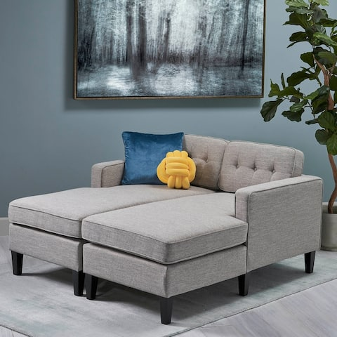 Crowningshield 2-piece Chaise Daybed by Christopher Knight Home