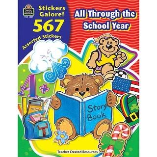 All Through The School Year Sticker