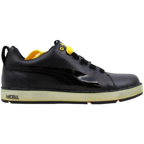 Puma Men's HC Lux Black/Cyber Yellow-Orange 185831 06 Size 7