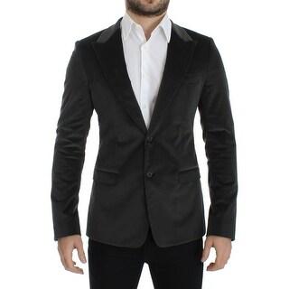 Dolce & Gabbana Dolce & Gabbana Green manchester slim fit blazer - it48-m