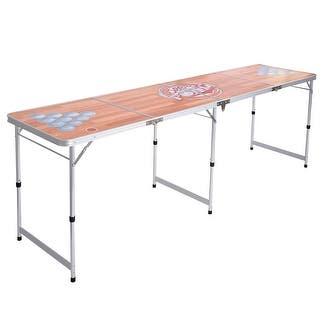 Costway Foldable Aluminum 8' Folding Beer Pong Table Portable Outdoor Indoor Game Party|https://ak1.ostkcdn.com/images/products/is/images/direct/698252f04dcb38f3c5098cf38852181163808b28/Costway-Foldable-Aluminum-8%27-Folding-Beer-Pong-Table-Portable-Outdoor-Indoor-Game-Party.jpg?impolicy=medium