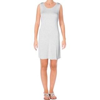 BB Dakota Womens T-Shirt Dress Heathered Sleeveless - xs