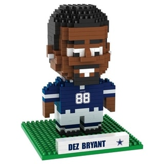 Dallas Cowboys Bryant D #88 3D NFL BRXLZ Bricks Puzzle Name Player
