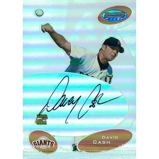 Signed Cash David San Francisco Giants 2003 Bowman Baseball Card autographed