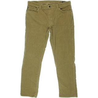 Polo Ralph Lauren Mens Slim Straight Fit Corduroy Pants