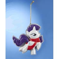 "3.25"" My Little Pony ""Rarity"" Christmas Ornament for Personalization - PURPLE"