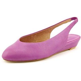 Nina Juniper Women Pointed Toe Leather Flats