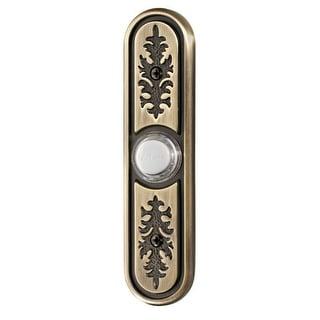 NuTone SPB64L Textured Lighted Door Bell Pushbutton