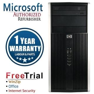Refurbished HP Compaq 6000 Pro Tower Intel Core 2 Duo E8400 3.0G 4G DDR3 250G DVD Win 7 Pro 64 Bits 1 Year Warranty - Black