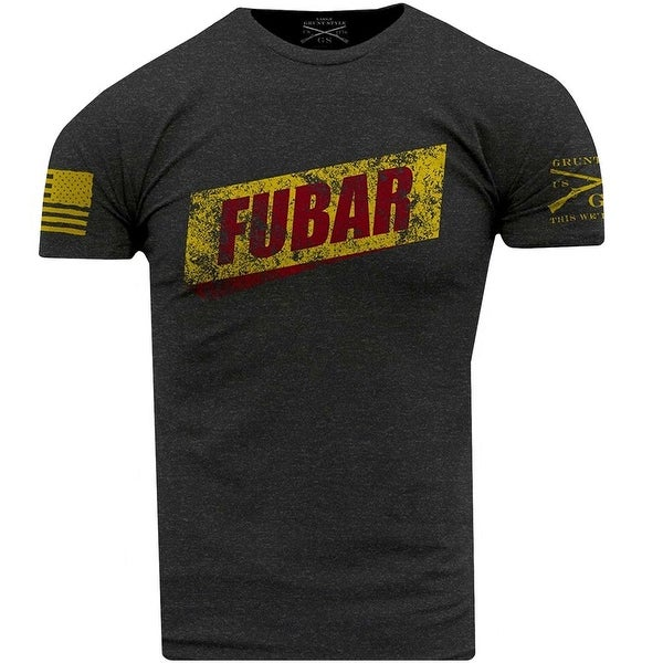 2ba2df5e5167 Shop Grunt Style FUBAR T-Shirt - Heather Gray - Free Shipping On Orders Over  $45 - Overstock - 20584684