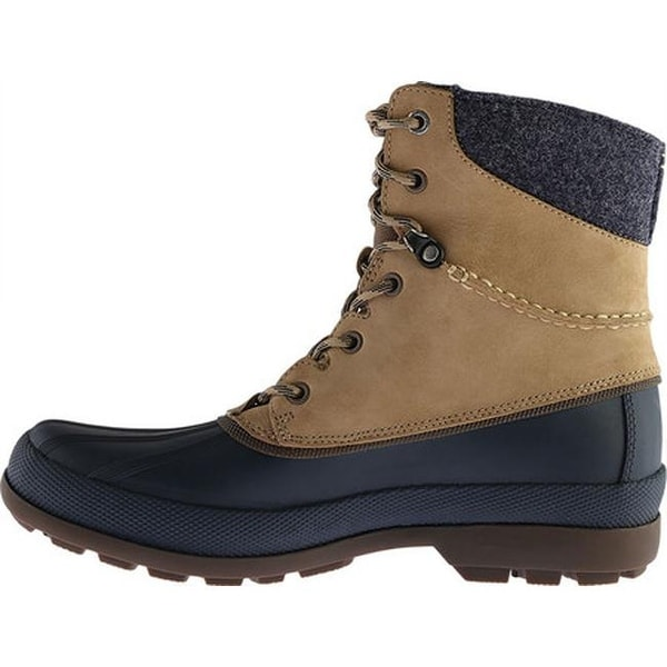 with Vibram Arctic Grip Taupe Leather