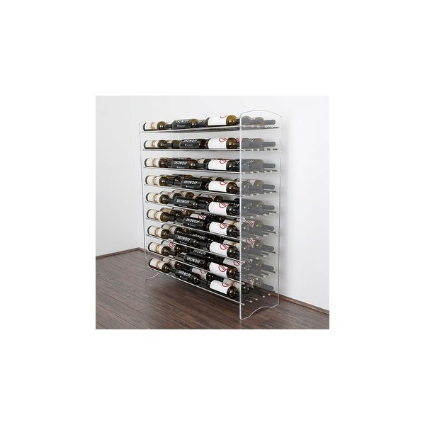 VintageView E1-4 4' Evolution System 81 Bottle Wine Display