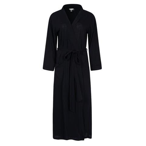 Richie House Women's Long Style Bathrobe Robe