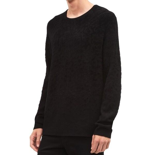 fc645f8ffd4 Shop Calvin Klein Solid Mens Longsleeve Crewneck Sweater - On Sale ...