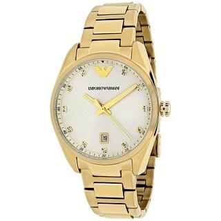 Armani Women's Classic AR6064 Yellow Dial watch