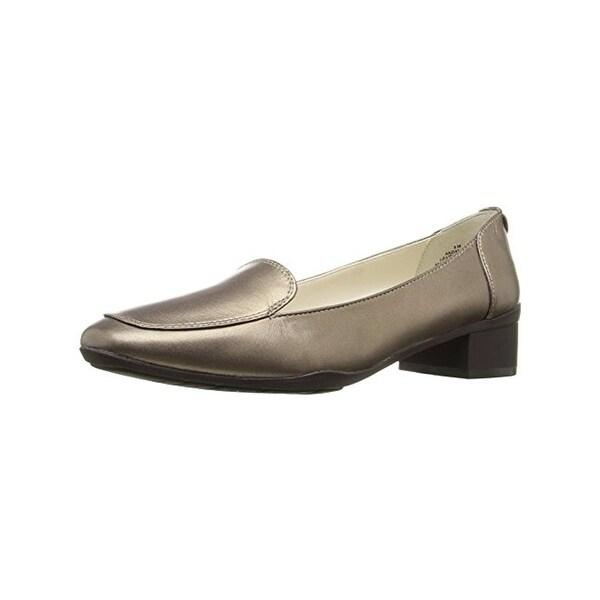 Anne Klein Womens Daneen Loafer Heels