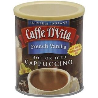 Caffe D'Vita - French Vanilla Cappuccino ( 6 - 16 OZ)
