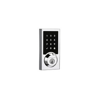 Kwikset 916CNT-ZW  SmartCode 916CNT Touchscreen Electronic Deadbolt with Smartkey and Z-Wave Technology
