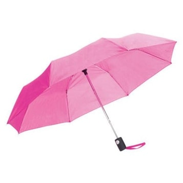 "Totes 0RMAOBAS Automatic Umbrella, 42""/48"", Steel frame, Nylon sleeve"