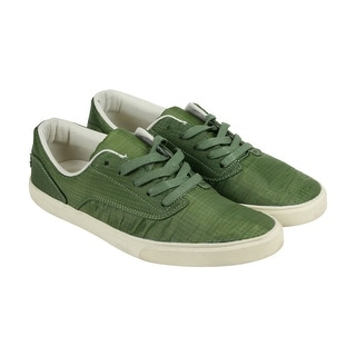 Radii Noble Low Mens Green Canvas Lace Up Sneakers Shoes