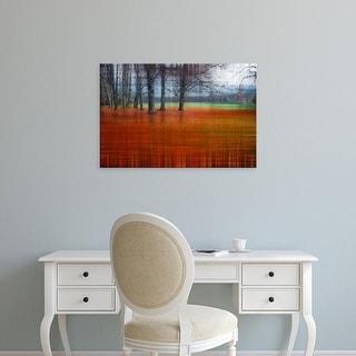 Easy Art Prints Hannes Cmarits's 'Abstract Autumn' Premium Canvas Art