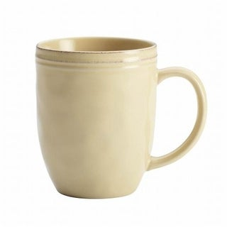 Rachael Ray 57235 12 oz. Stoneware Mug in Almond Cream