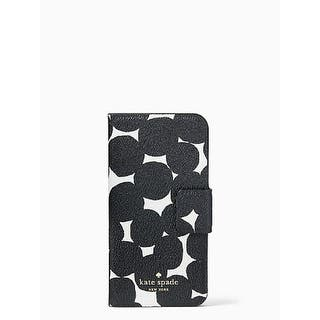 Kate Spade New York Splodge Dot Leather Wrap Folio Case For iPhone 7 Plus & iPhone 8 Plus - Black/White|https://ak1.ostkcdn.com/images/products/is/images/direct/698ecd23eb1c4c08da176ebd6fd91c1e9888ec28/Kate-Spade-New-York-Splodge-Dot-Leather-Wrap-Folio-Case-For-iPhone-7-Plus-%26-iPhone-8-Plus---Black-White.jpg?impolicy=medium