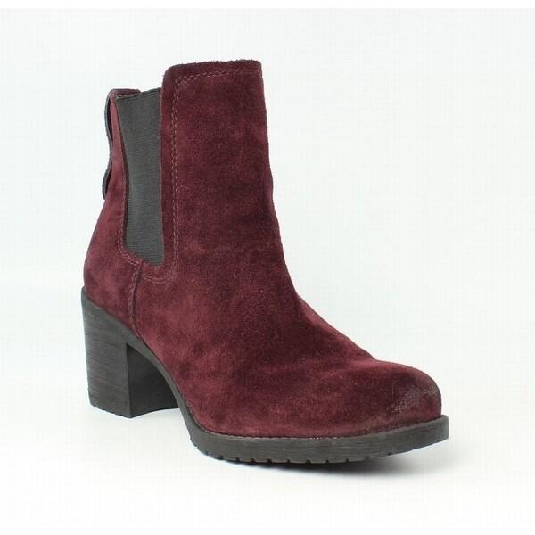 9807956574e Sam Edelman NEW Purple Women Shoes Size 6.5M Hanley Suede Chelsea Boot
