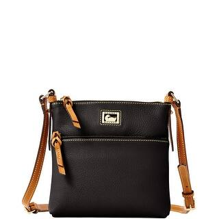 Dooney & Bourke Dillen Letter Carrier (Introduced by Dooney & Bourke at $168 in Aug 2012) - Black|https://ak1.ostkcdn.com/images/products/is/images/direct/698efd424d0e07fb76ae032592904dd16d2e4245/Dooney-%26-Bourke-Dillen-Letter-Carrier-%28Introduced-by-Dooney-%26-Bourke-at-%24168-in-Aug-2012%29.jpg?impolicy=medium