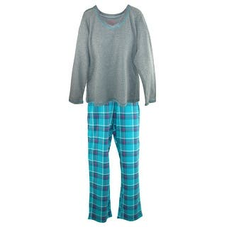 Hanes Women's Long Sleeve Tee and Pant Pajama Pant Set|https://ak1.ostkcdn.com/images/products/is/images/direct/698f9e0c54b5cea6b59eb8fb9ce82ddc43514dbe/Hanes-Women%27s-Long-Sleeve-Tee-and-Pant-Pajama-Pant-Set.jpg?impolicy=medium