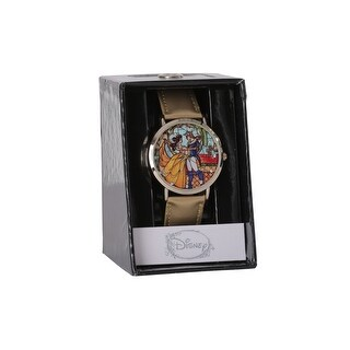 Beauty and the Beast Stained Glass Watch