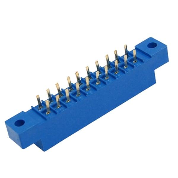 Unique Bargains 5 Pcs 805 Series 3.96mm Pitch 20P Card Edge Connectors for PCB