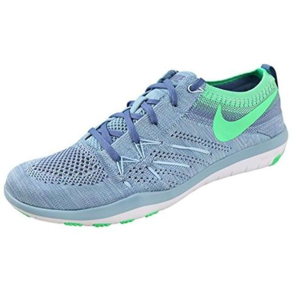 new arrival f2644 3c90c Nike Womens Free tr Focus Flyknit Low Top Lace Up Running Sneaker