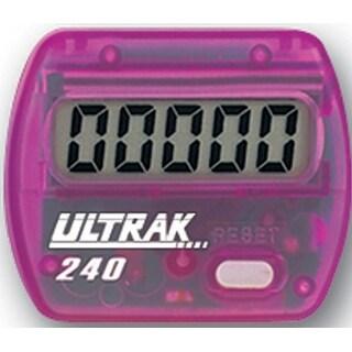 Ultrak 240 - Electronic Step Counter Pedometer - Purple