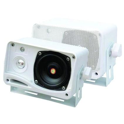 "Pyle 3.5"" 200 Watt Mini Weatherproof Speakers"