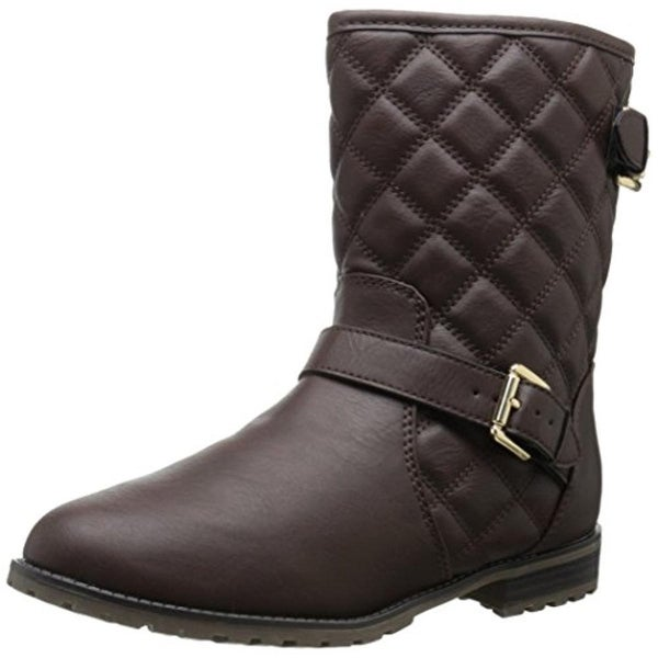 Sporto Womens Judy Winter Boots Faux Leather Quilted
