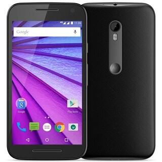 Motorola Moto G (3rd Generation) Unlocked GSM Andriod Phone w/ 13MP Camera - Black