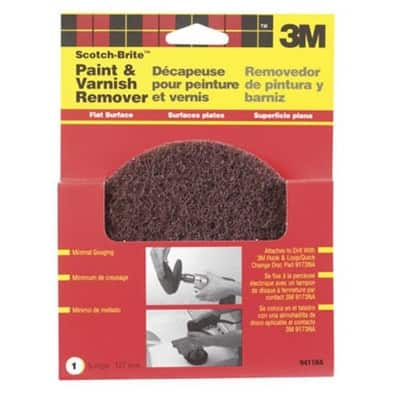 """Scotch-Brite 9411NA Flat Surface Paint & Varnish Remover Disc 5"""""""