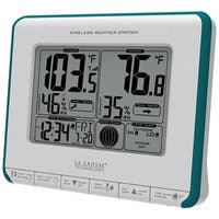 "La Crosse Technology 308-1711BL Wireless Weather Station, 5.5"" x 4.5"" High"