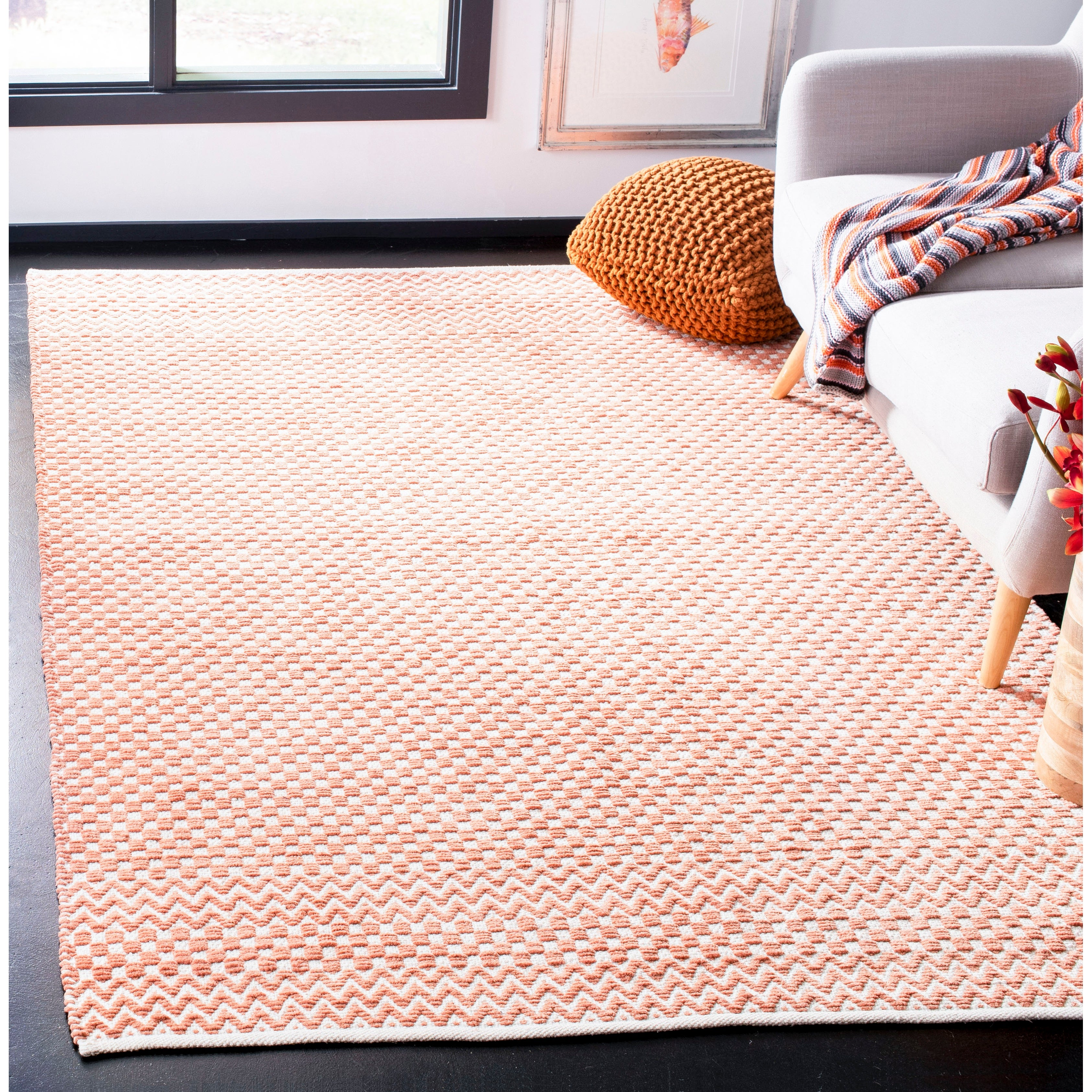 Boston Zaida Coastal Cotton Rug